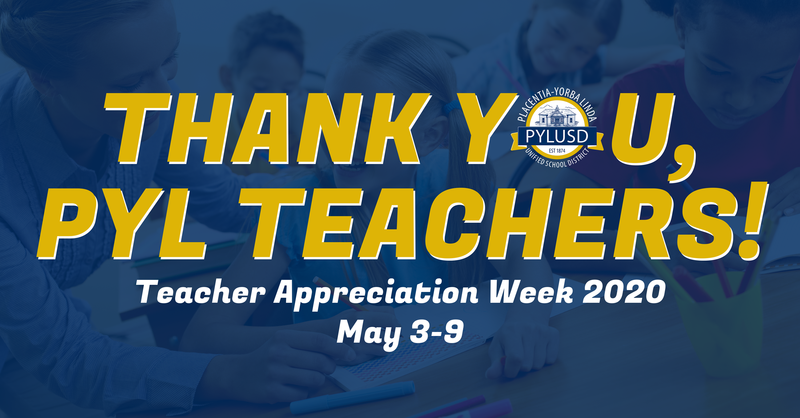 Teacher appreciation graphic.