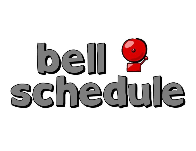 Park's bell schedule is now available Featured Photo