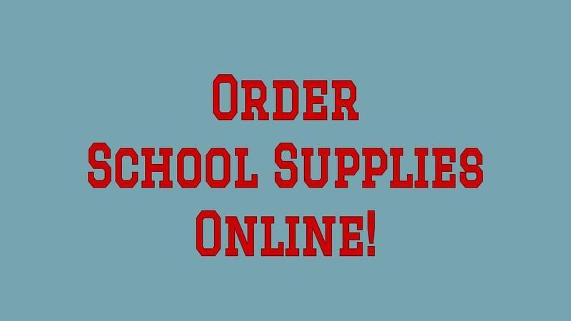 Order School Supplies Online