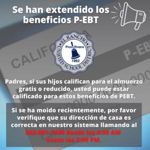 Beneficios de P-EBT