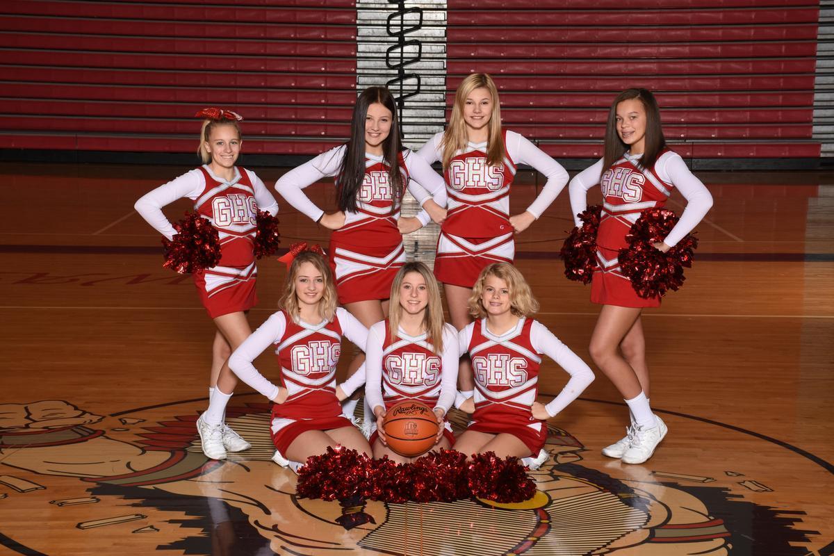 Freshman BB Cheerleaders 19/20