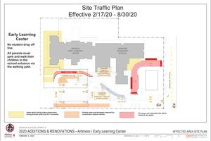 Ardmore/AELC traffic pattern