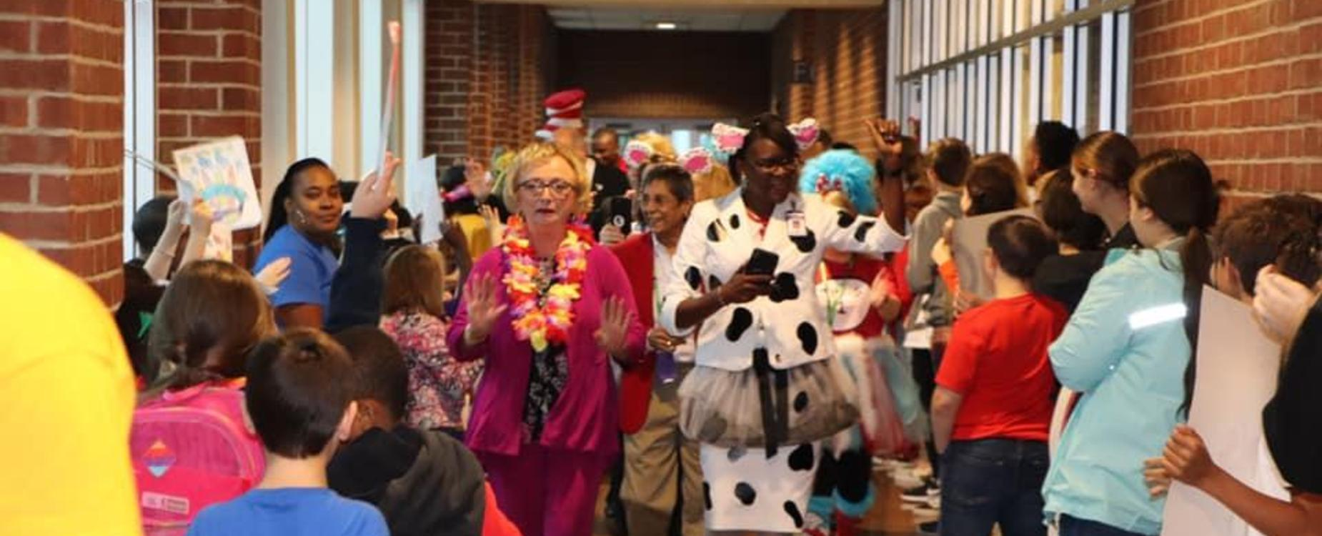 A Celebration: Dr. Wright Celebrates with PCSD