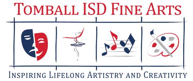 Tomball ISD Fine Arts logo