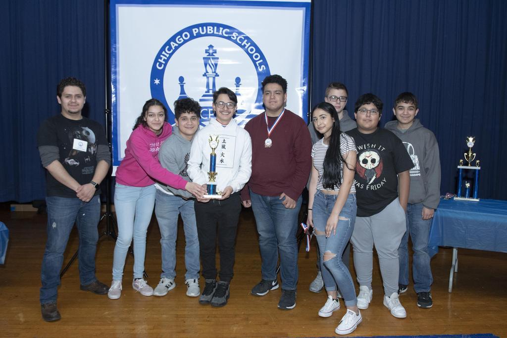 Chess Club Award Winners
