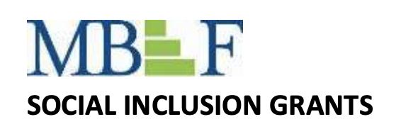 MBEF Social Inclusion Grants