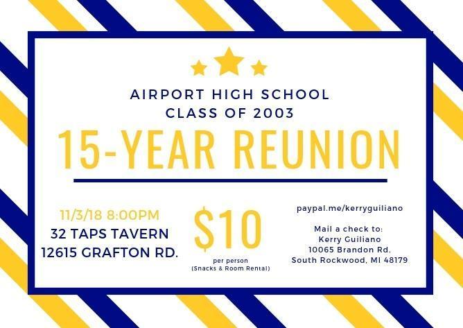 AHS Class of 2003 Reunion