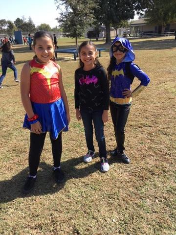 Some super heroes for Red ribbon week 2019