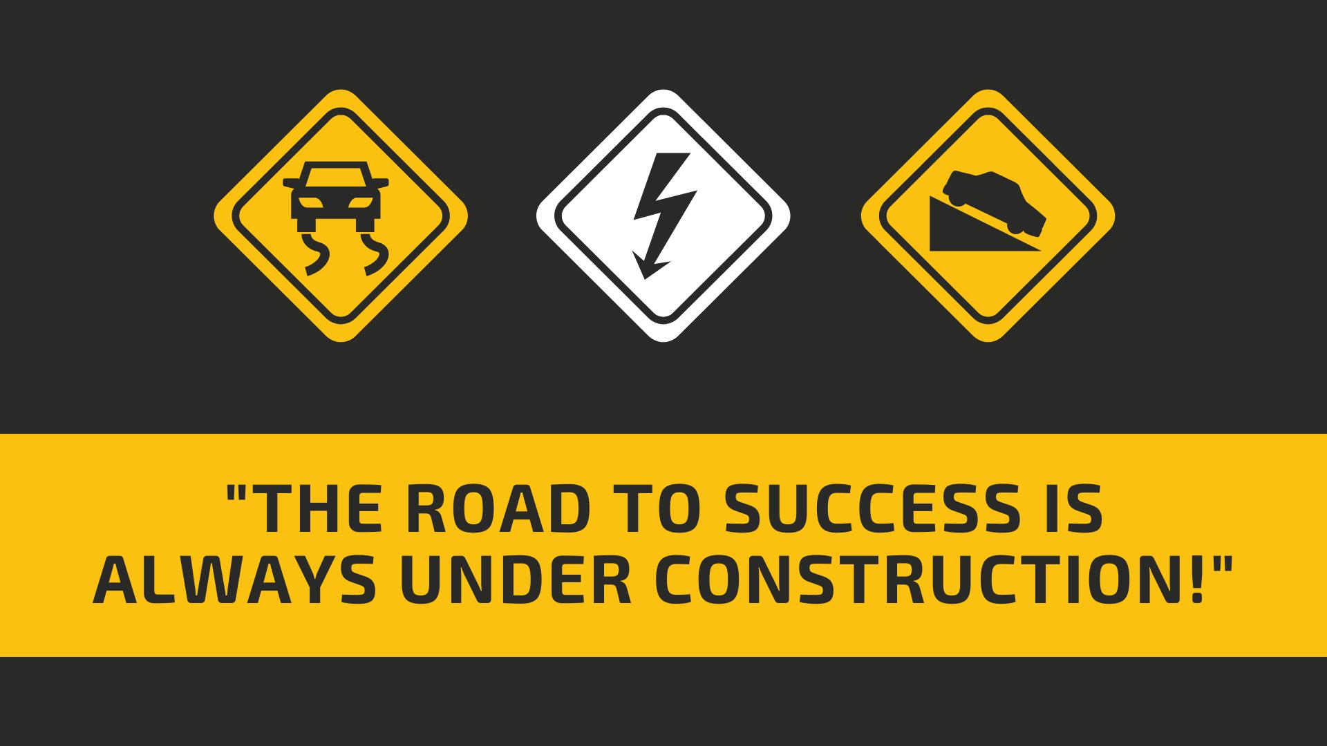 road to success header