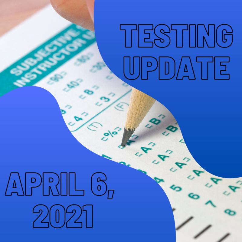 April 6, 2021 Testing Update Thumbnail Image