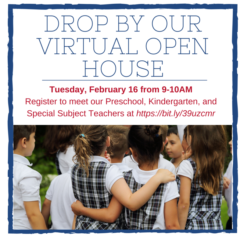 Virtual Preschool and Kindergarten Open House Featured Photo