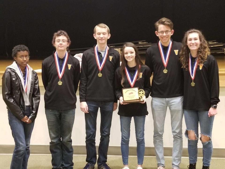 The Scholastic Bowl Team is the SWD Champ!