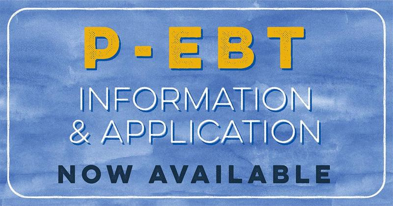 P-EBT Application is Open Thumbnail Image