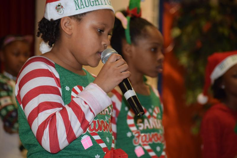 Frazier Elementary School students celebrated Christmas through music and dance during their Winter Show Thumbnail Image