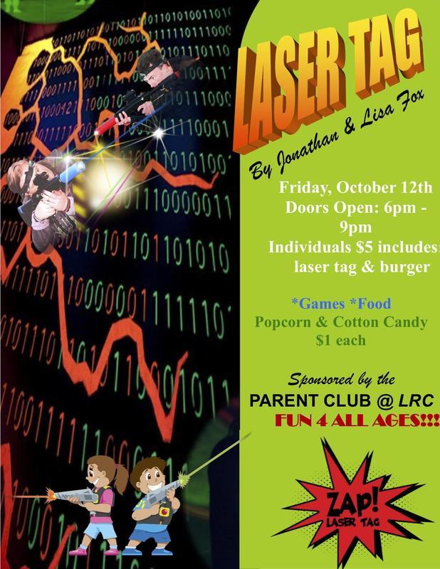 Laser Tag Flyer