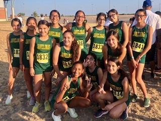 Mustangs Compete at the Border Bash XC Meet Featured Photo