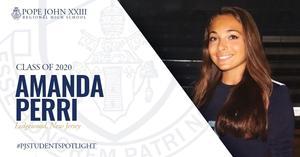 PJ Student Spotlight Amanda Perri