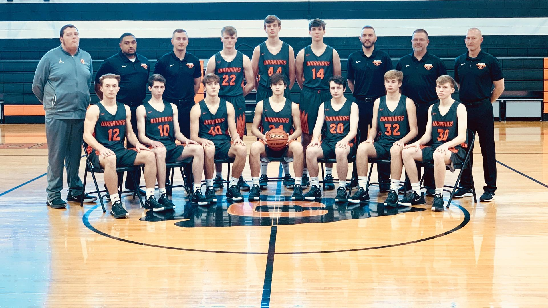 Varsity Boys Basketball Team 2019-2020