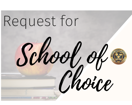 Request for School of Choice