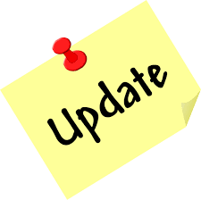 Update Icon Yellow Post it Note