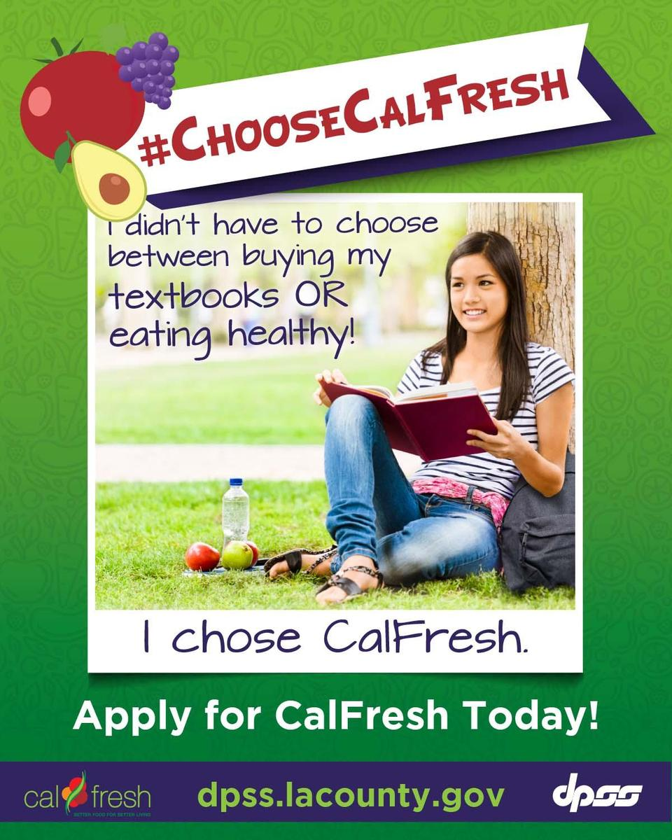 Apply for CalFresh Today!