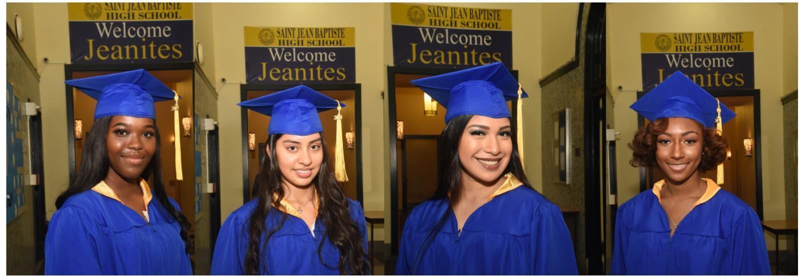 Graduates of SJB