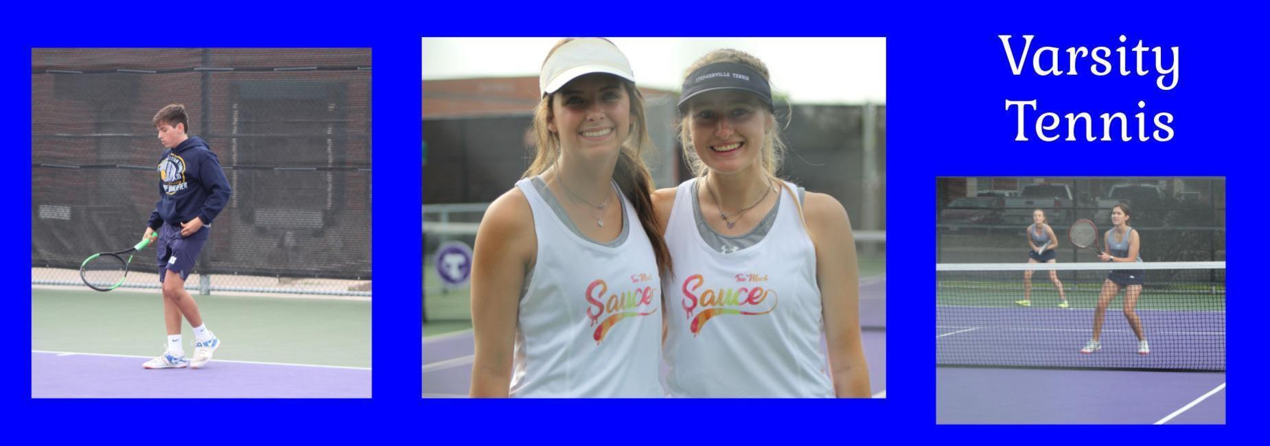 district tennis match