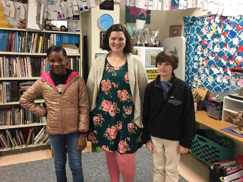 ExploraVision awards Greenfield students, Jame Thomas and Rickayla Myles Featured Photo