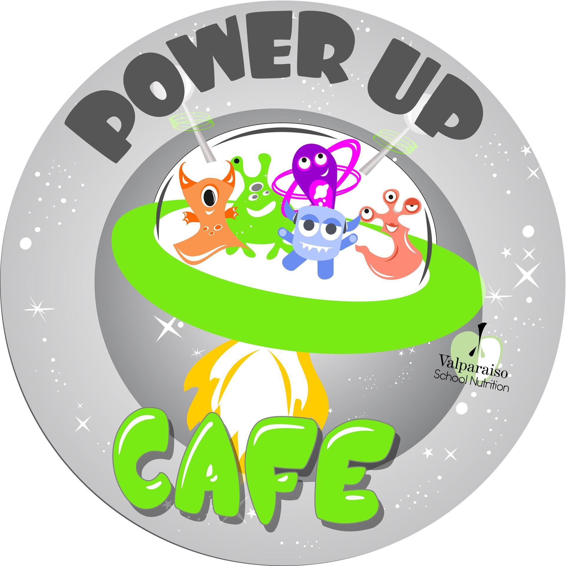 Power Up Cafe Logo