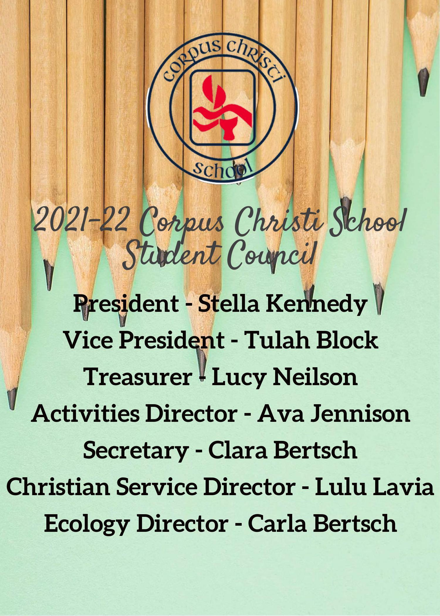 Congratulations to Our Newly Elected 2021-22 Student Council Image