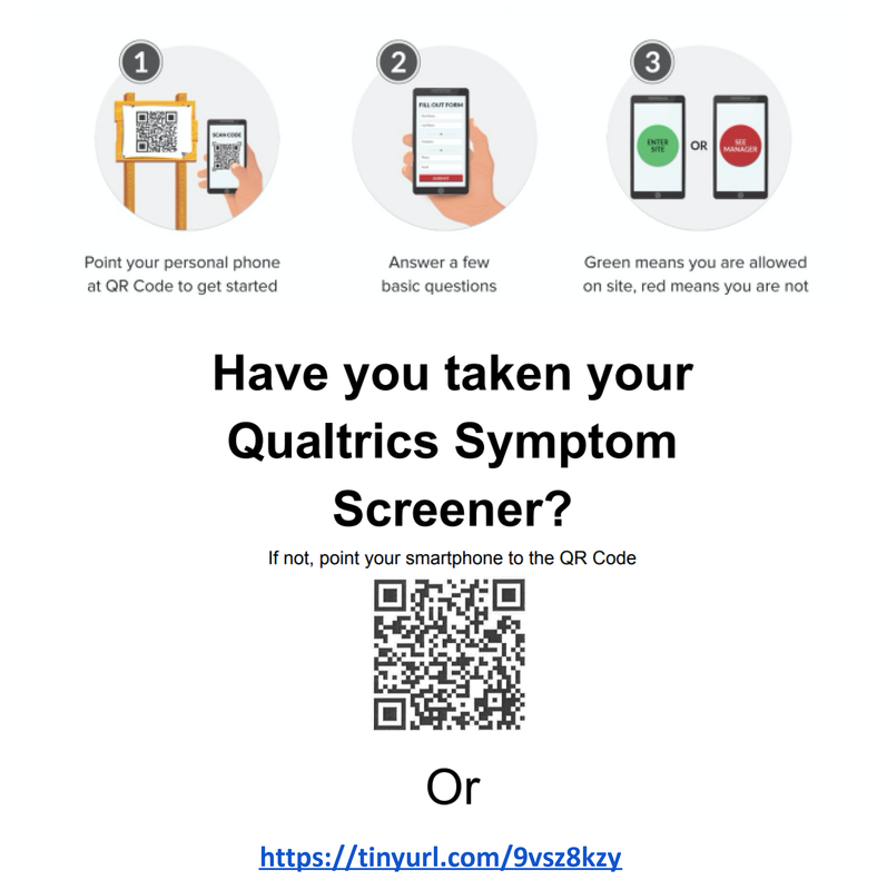 Daily Qualtrics Symptom Screener Featured Photo