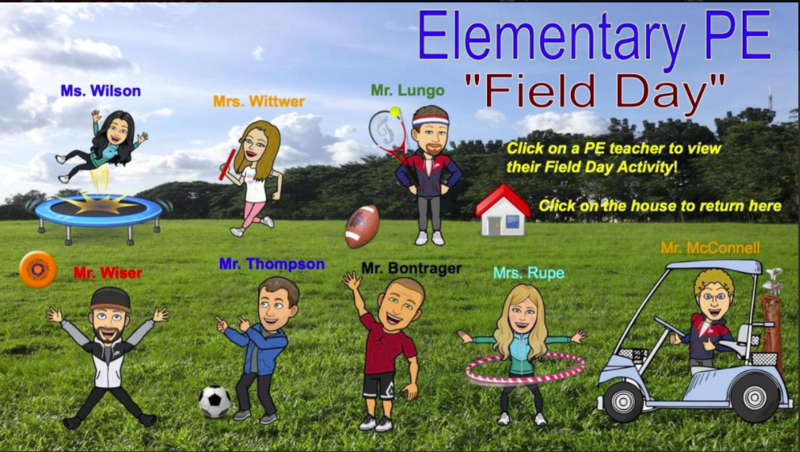Elementary PE Specialists Virtual Field Day pic