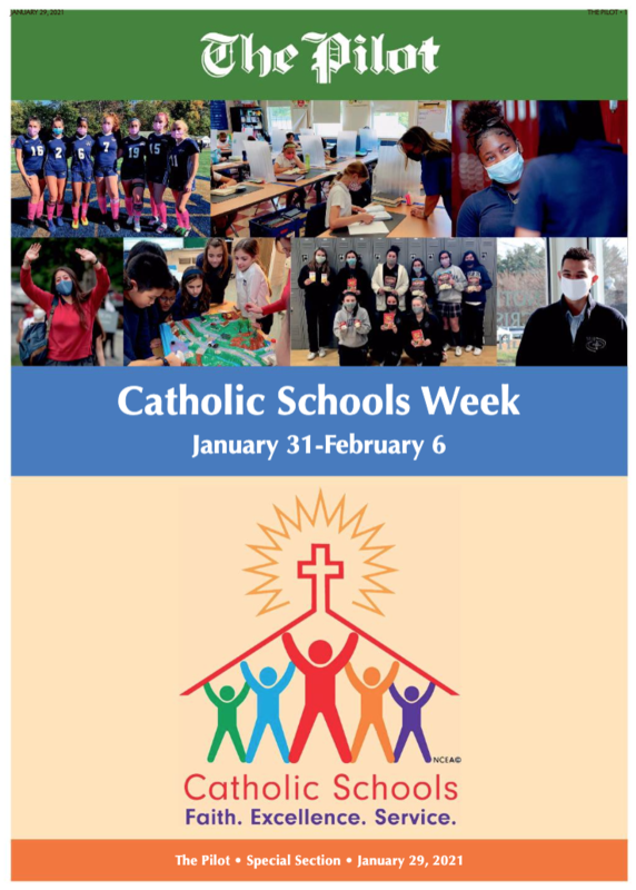 STCPS Featured in the Boston Pilot's CSW Issue Featured Photo