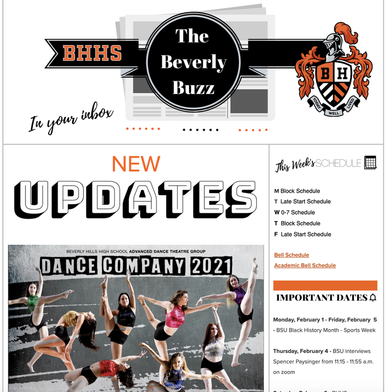 BHHS Newsletter - The Beverly Buzz - Feb. 3, 2021