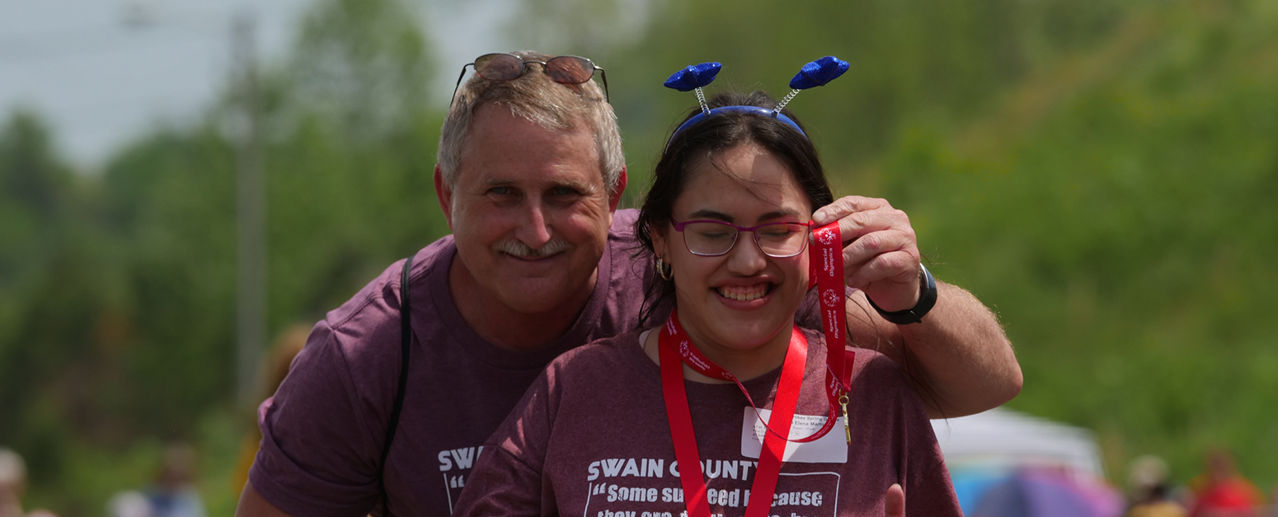 Swain Students at Special Olympics