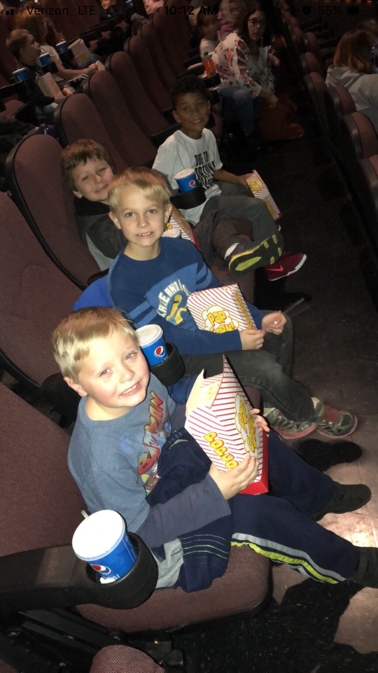 Getting ready to watch The Grinch
