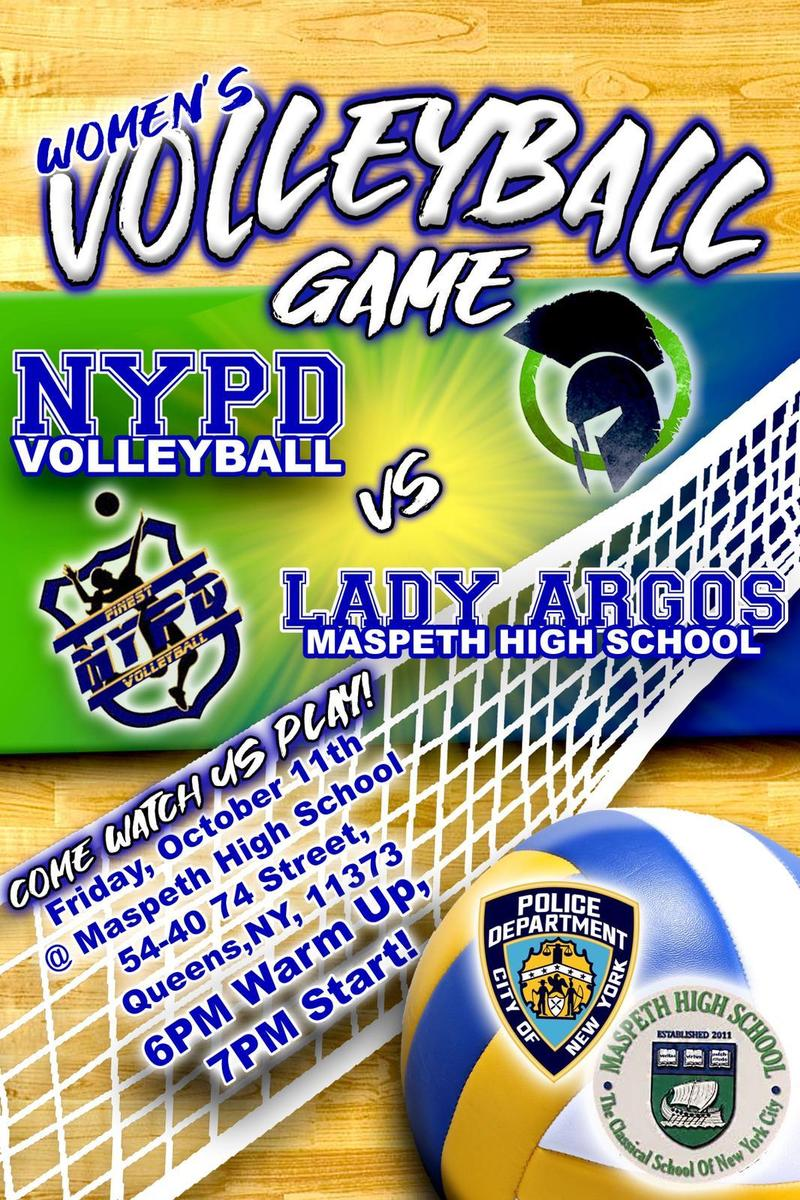 Maspeth High School Invites Community to Charity Volleyball Game Featured Photo