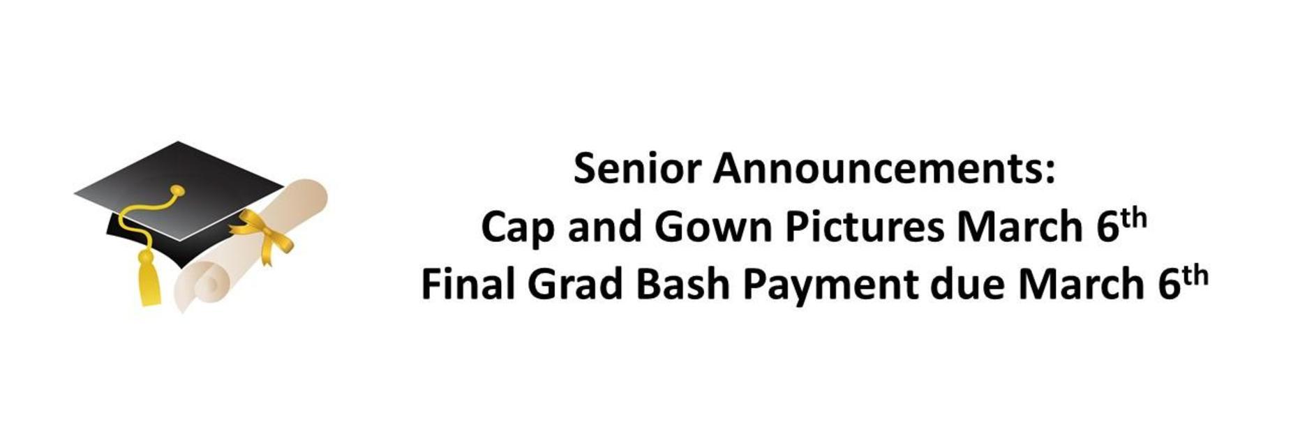 Senior Announcement