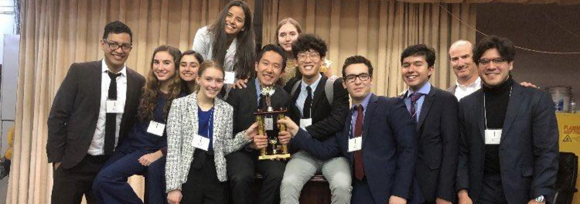 Mock Trial Team wins 3rd place!