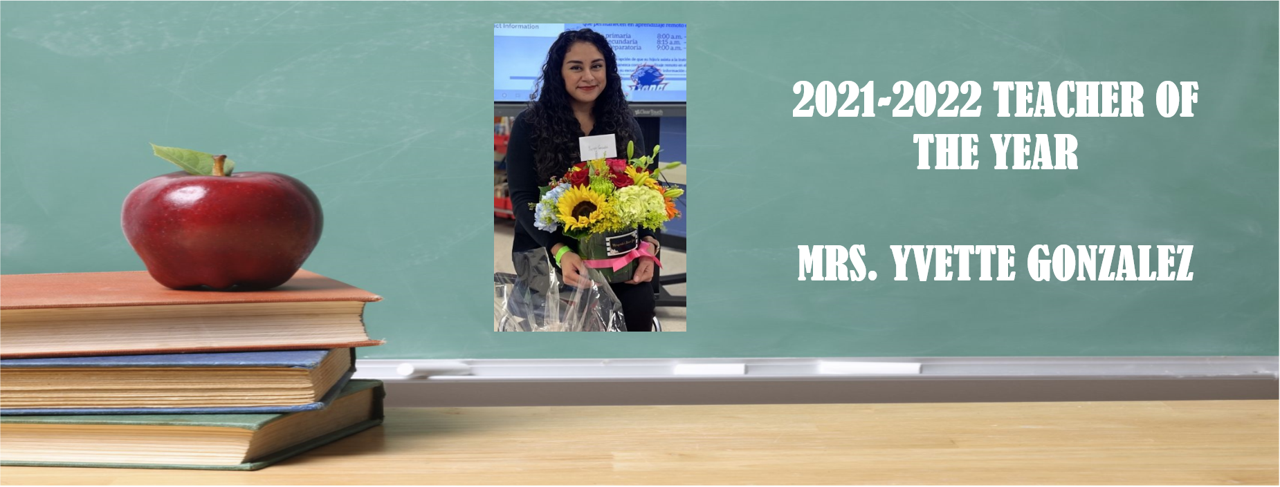 2021-2022 TEACHER OF THE YEAR
