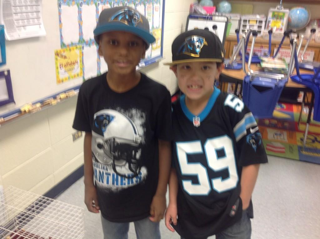 Kids on Panther Day