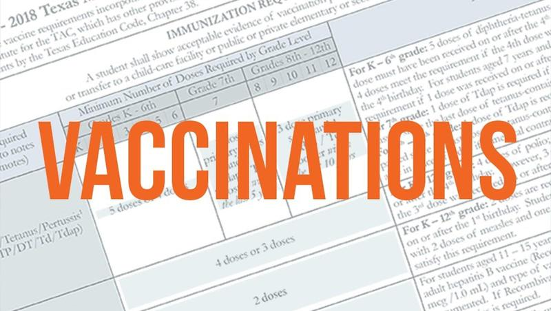 Required Vaccinations