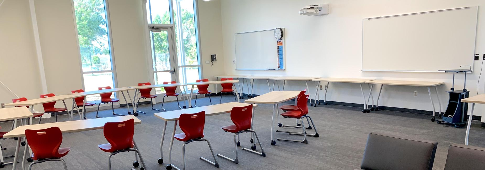 Picture of middle School Classroom