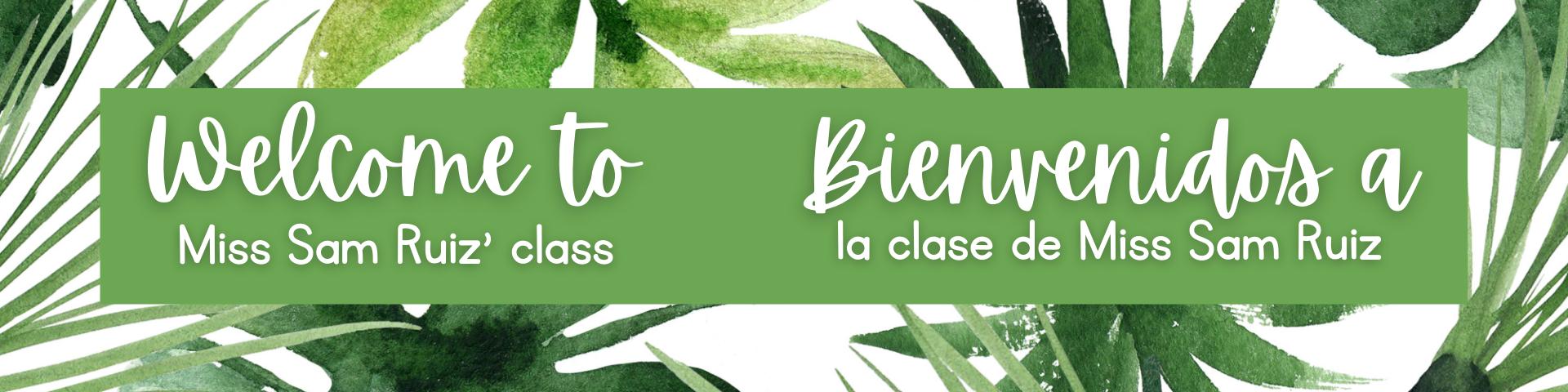 Welcome! ¡Bienvenido!
