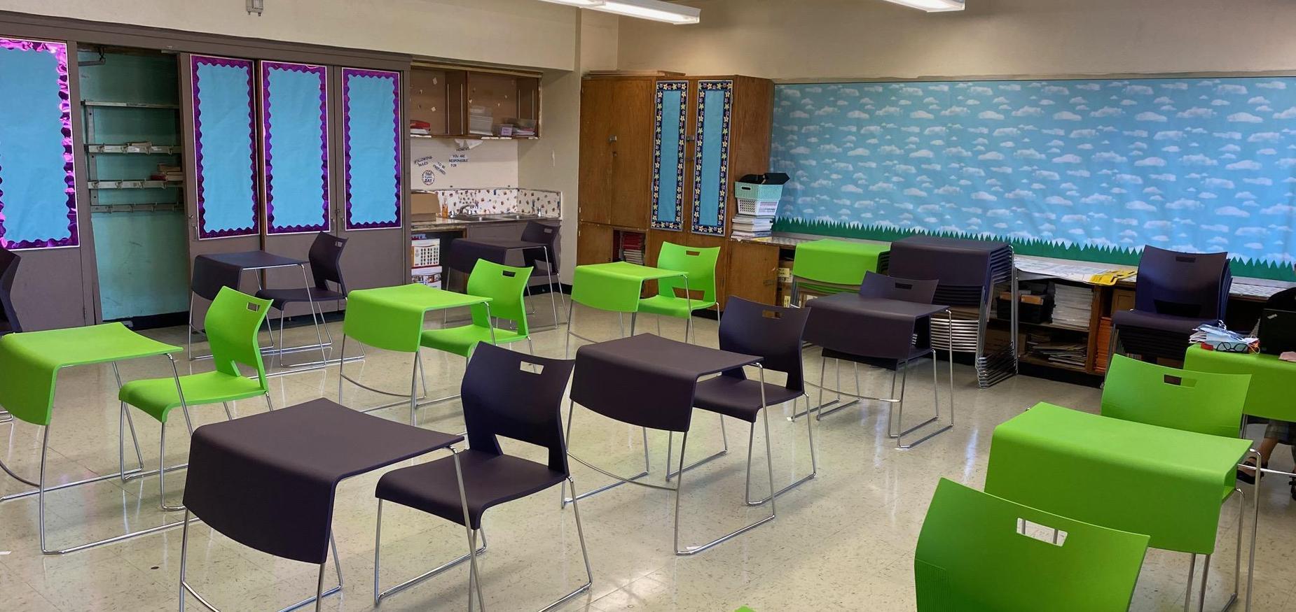 7th grade classroom