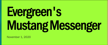Mustang Messenger
