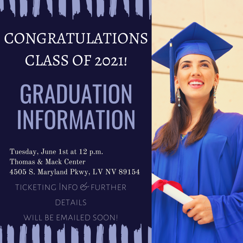 GRADUATION INFORMATION-Click Here!! Featured Photo