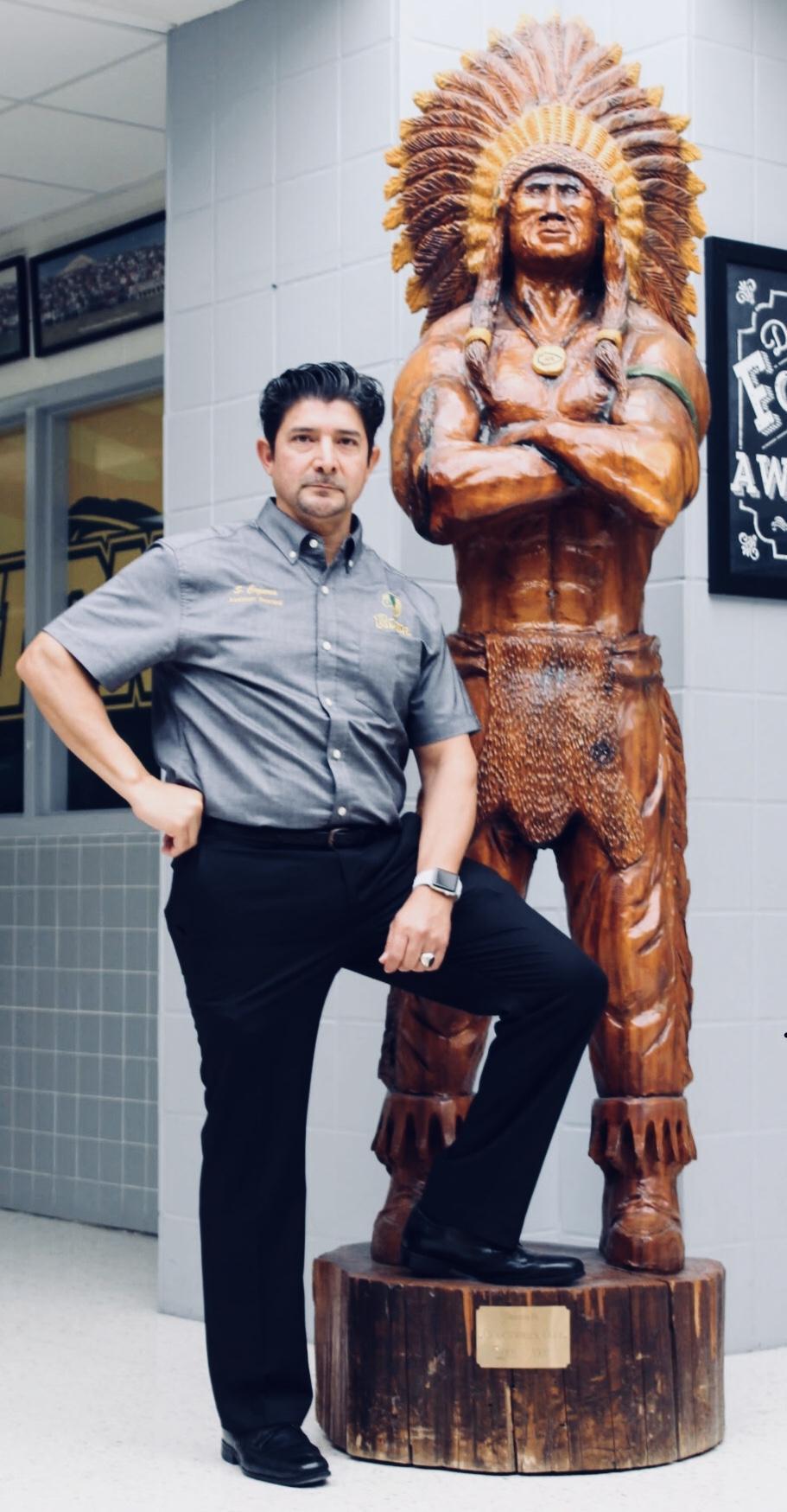 Sam Cazares Assistant Principal