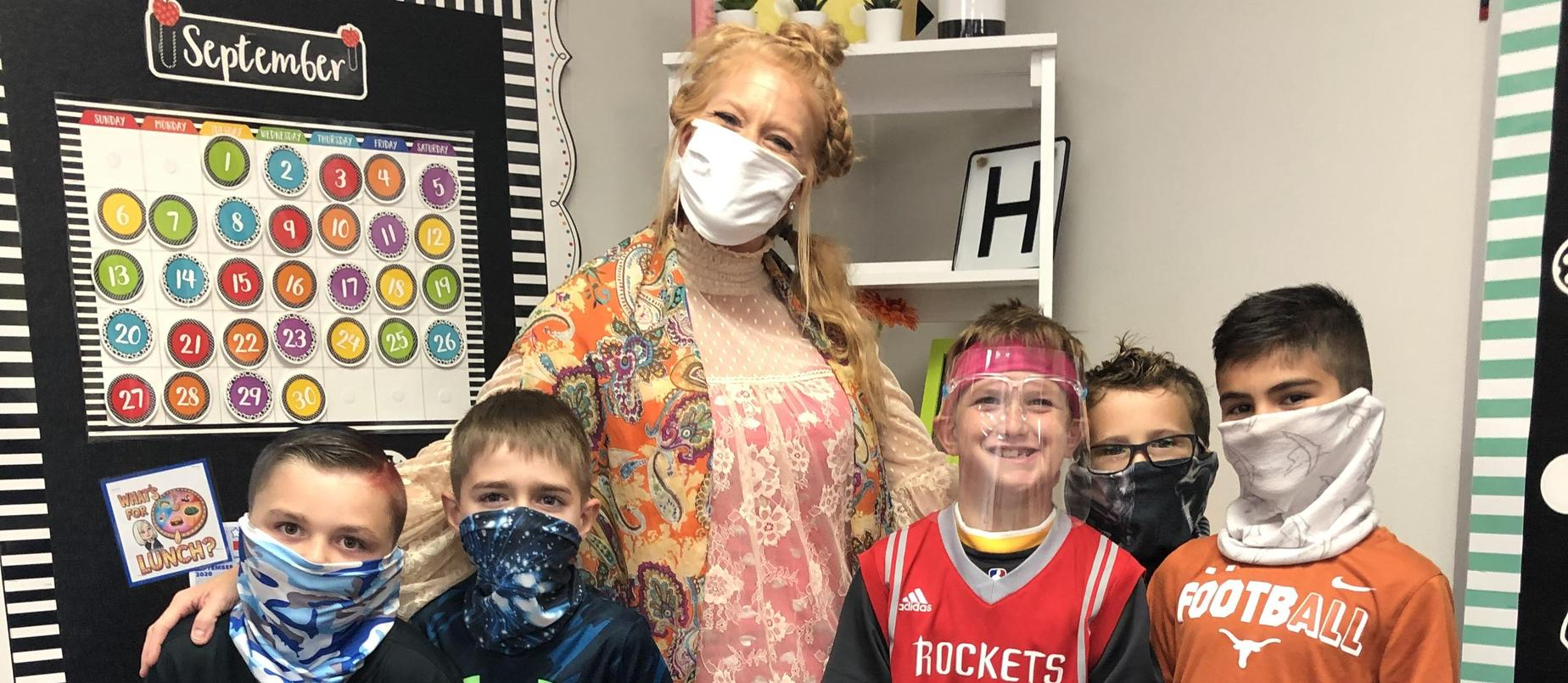 Ms. Frost and her 3rd Grade Students