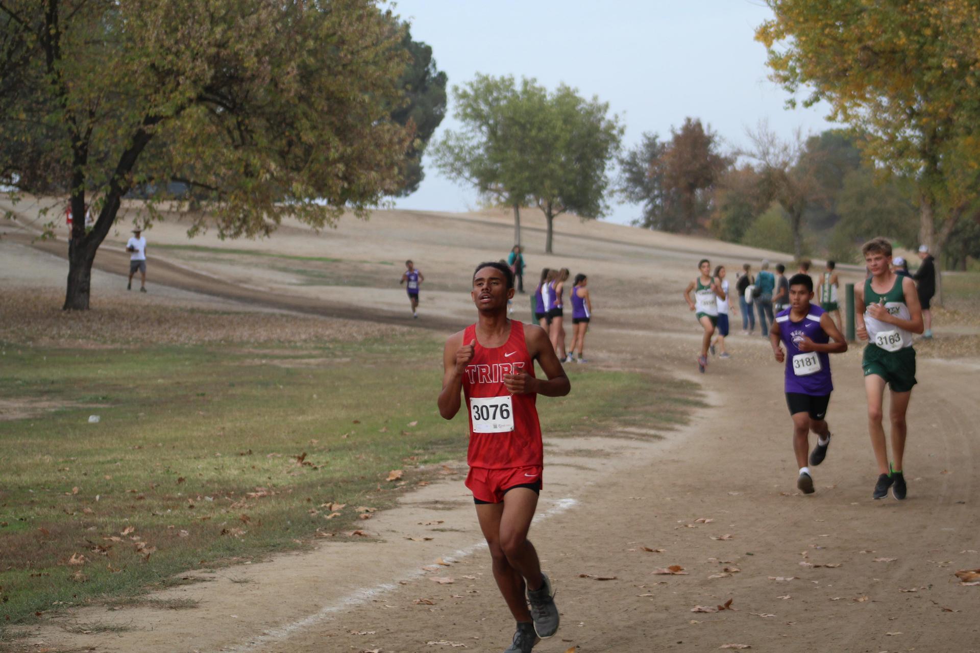 Lawrence Luna running